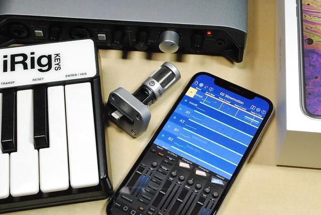 さっそくiPhone XSを買ったので、DTMで使えるかチェックしてみた