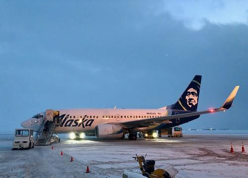 Alaska Airlines, BRW Airport