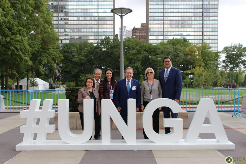 Secretario General del SICA, Vinicio Cerezo inicia jornada de reuniones en Naciones Unidas