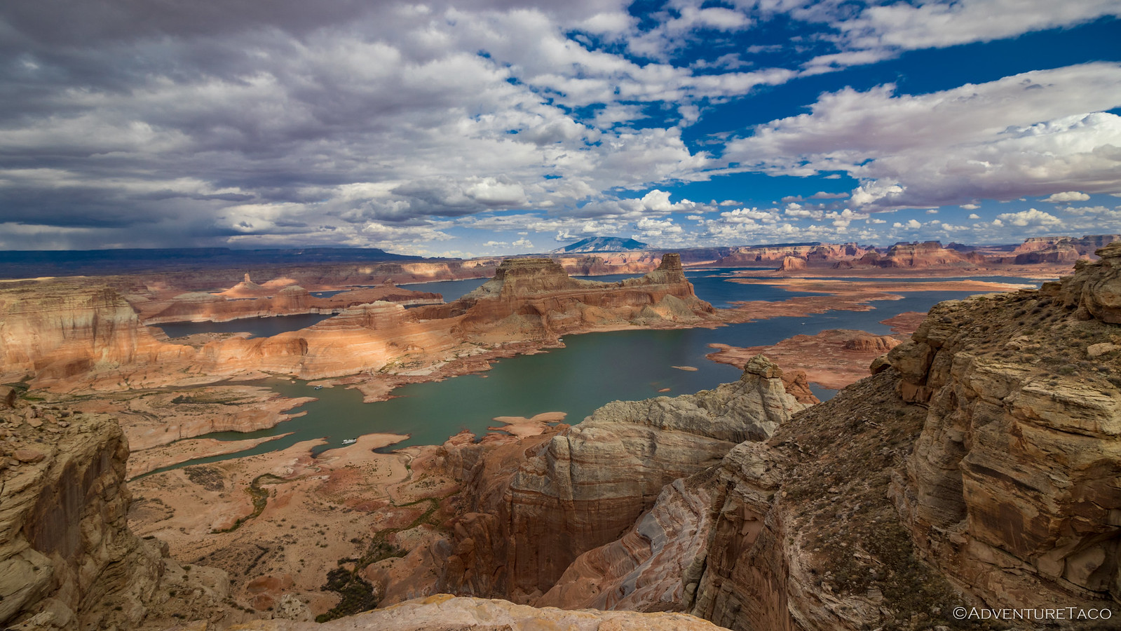 alstrom point, lake powell, glen canyon