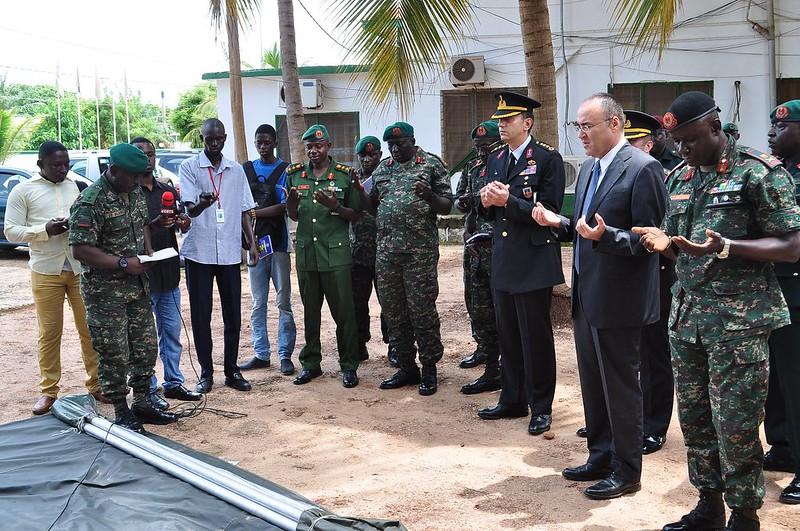 Turkey donates military hardware to Gambia