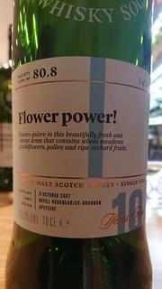 SMWS 80.8 - Flower power!