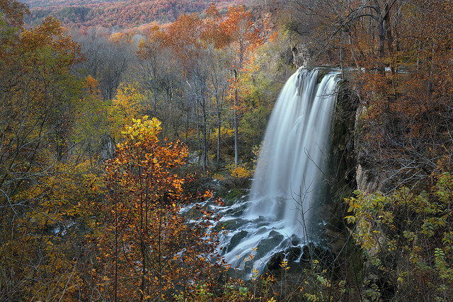 Falling Spring Waterfall, Virginia
