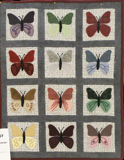 57: Butterflies in Wool - June Hittenberger
