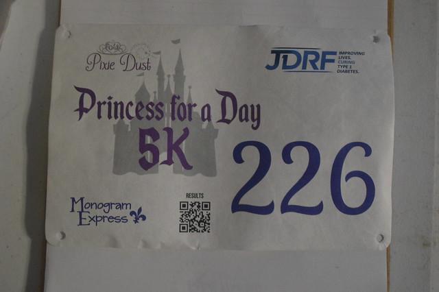 Princess for a Day 5K - September 29, 2018