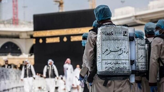 4714 Who are the Saudi families distributing Zamzam water from last 1400 years 01