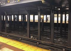 Subway Station Rails, Manhattan, New York