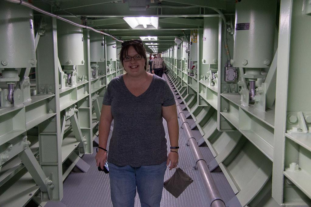 Melissa at Titan Missile Museum