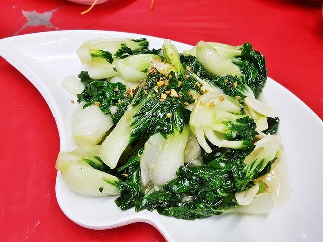 Stir-Fried Nai Bai / Milk Cabbage With Garlic