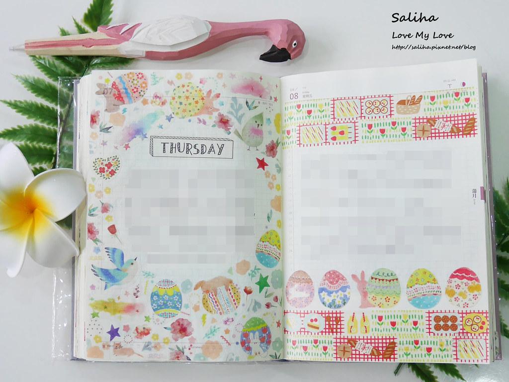 手帳裝飾日記紙膠帶裝飾技巧分享推薦 (4)