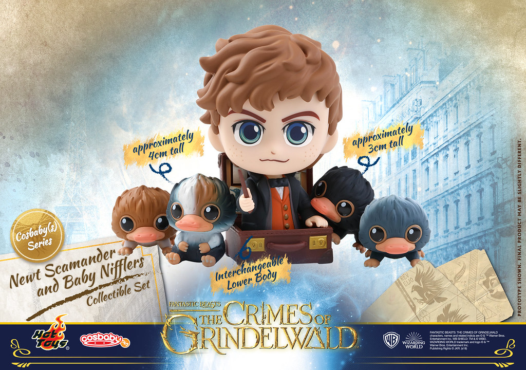 Hot Toys – COSB516 - 518, 537 – Fantastic Beasts: The Crimes of Grindelwald - Cosbaby (S) Series