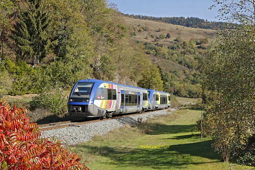 UM X73905-Alsace-X73661-Champagne Ardennes- TER 832770 Mulhouse-Kruth à Oderen