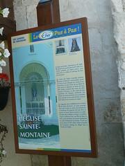 Sainte Montaine informations sur l'Eglise Sainte-Montaine