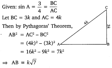 NCERT Solutions for Class 10 Maths Chapter 8 Introduction to Trigonometry 3