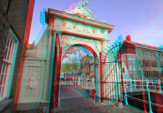 Doelenpoort Leiden 3D
