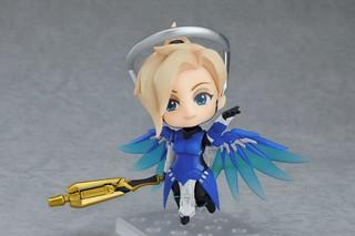 黏土人《鬥陣特攻》慈悲 鈷藍造型版(Mercy;マーシー)コバルトスキン・エディション【Blizzard限定】