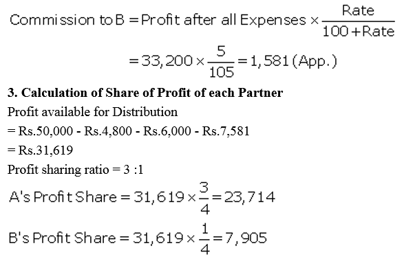 TS Grewal Accountancy Class 12 Solutions Chapter 1 Accounting for Partnership Firms - Fundamentals Q47.3
