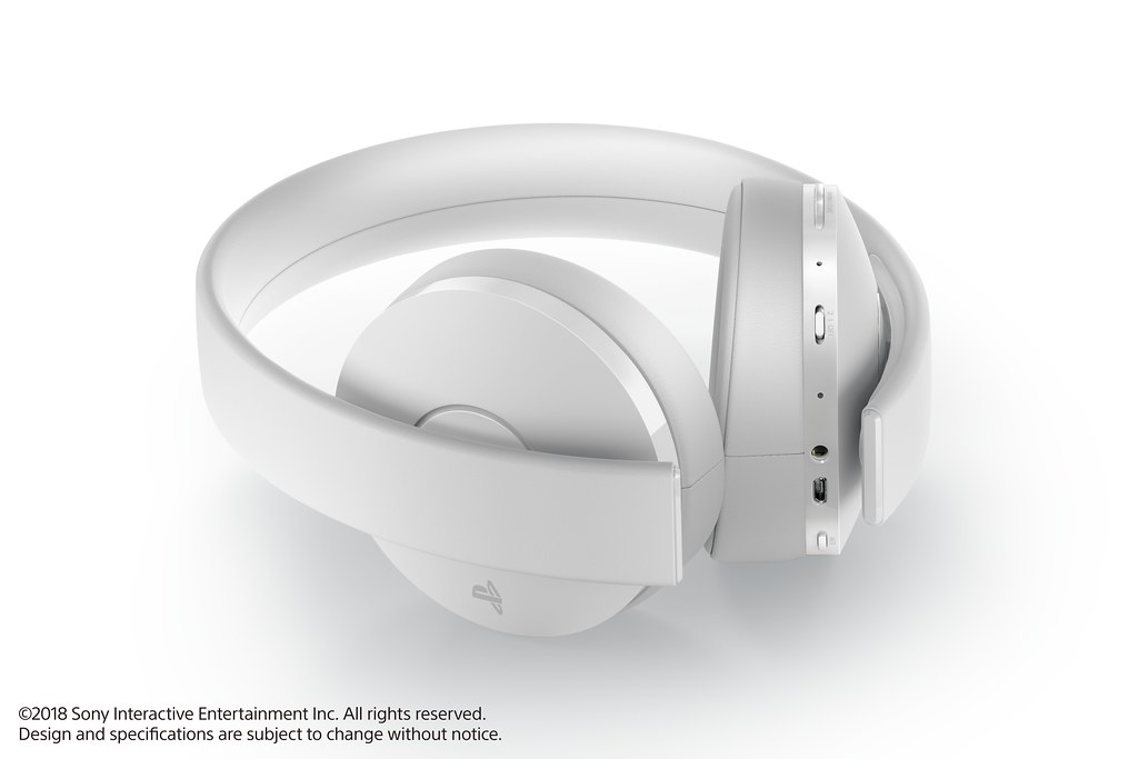 PlayStation Gold Wireless Headset (White)