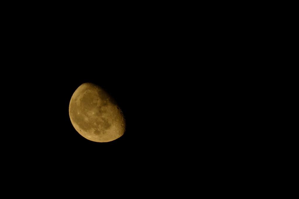 Saída da Lúa minguante
