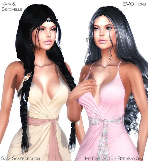 Hair Fair 2018 - EMO-tions - Kaya & Seychelle