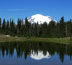 Tipsoo Lake, Mount Rainier National Park