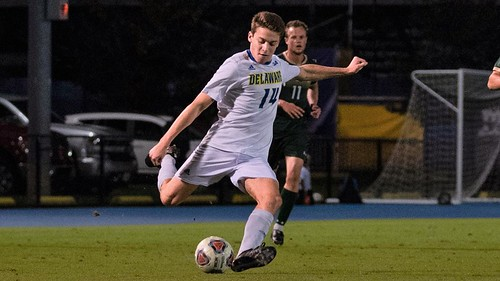 Delaware men's soccer shut out by William and Mary