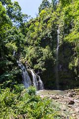 Upper Waikani Wasserfälle Maui Hawaii Road to Hana