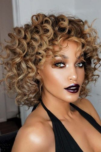 2019 Shapely Curly Bob Haircuts-Try This Season 4