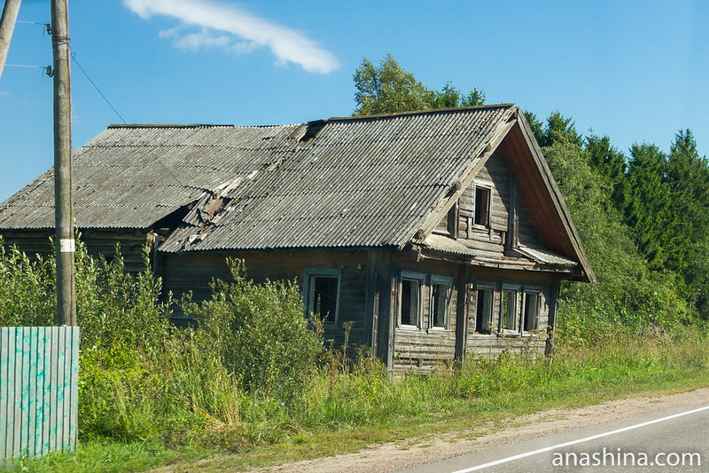 Умирающий дом, Карелия