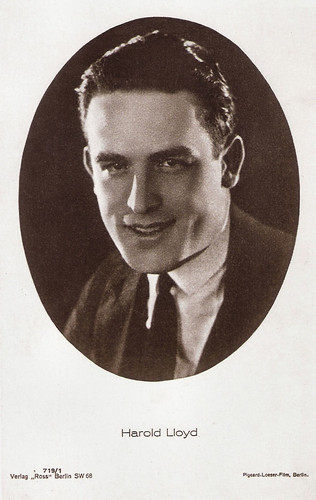 Harold Lloyd (without glasses)