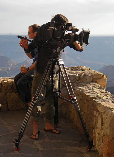 Photographers at the North Rim of the Grand Canyon, Arizona