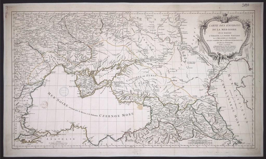 1769. Карта Юга России и Кавказа