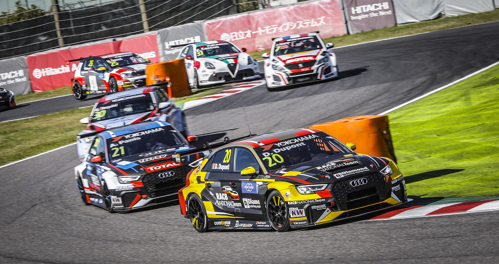 20 DUPONT Denis, (bel), Audi RS3 LMS TCR team Comtoyou Racing, action during the 2018 FIA WTCR World Touring Car cup of Japan, at Suzuka from october 26 to 28 - Photo Francois Flamand / DPPI