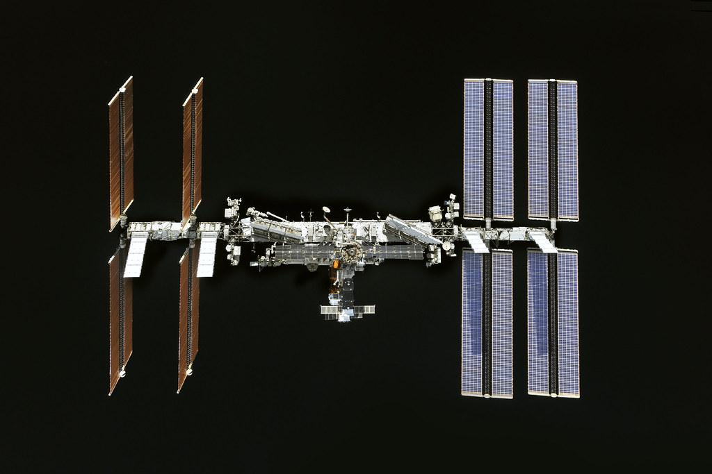 МКС (фотография Роскосмоса)