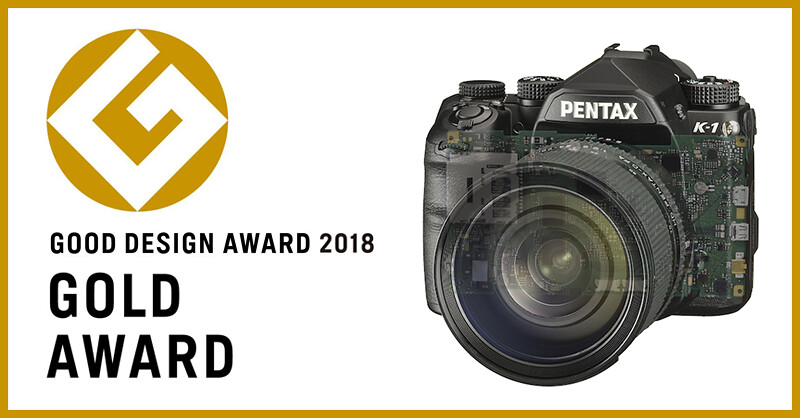 """PENTAX K-1 Upgrade Service"" won the Good Design Gold Award!"
