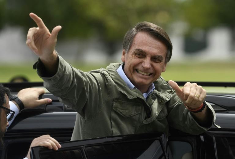 Bolsonaro barra jornais na 1ª coletiva à imprensa depois de eleito presidente , Jair Bolsonaro