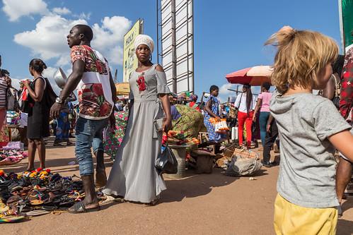 ghana kumasi market people ashanti gh