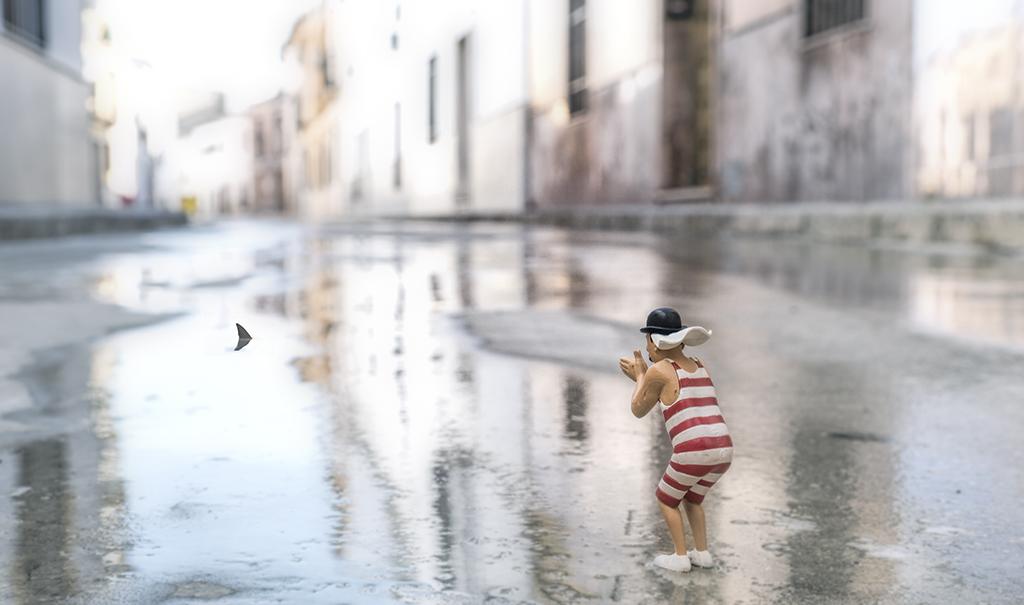 CR08 CR38 pepino (España) - El bañista - Tomada en Castro del rio el 11-12-16