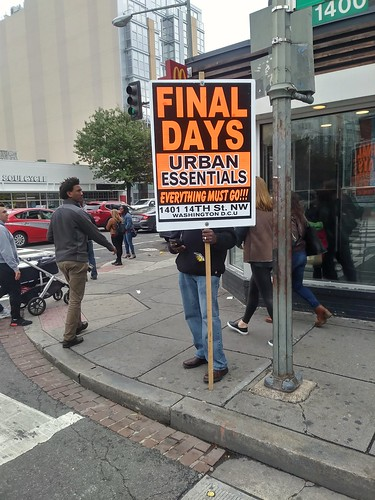 Final Days: Urban Essentials going out of business sale
