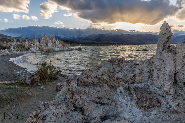 Golden Hour at Majaestic Mono Lake, California