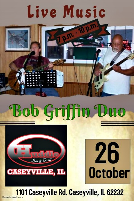 Bob Griffin Duo 10-26-18