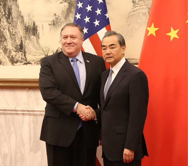 Secretary Pompeo Meets Foreign Minister Wang Yi in Beijing