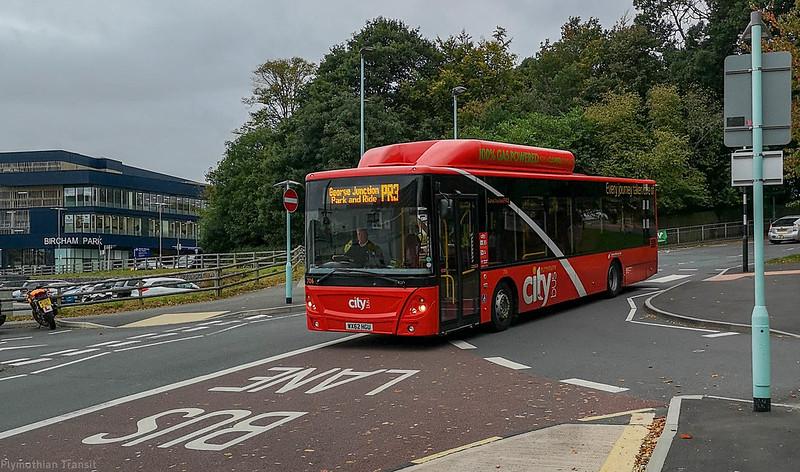 Plymouth Citybus 706 WX62HGU