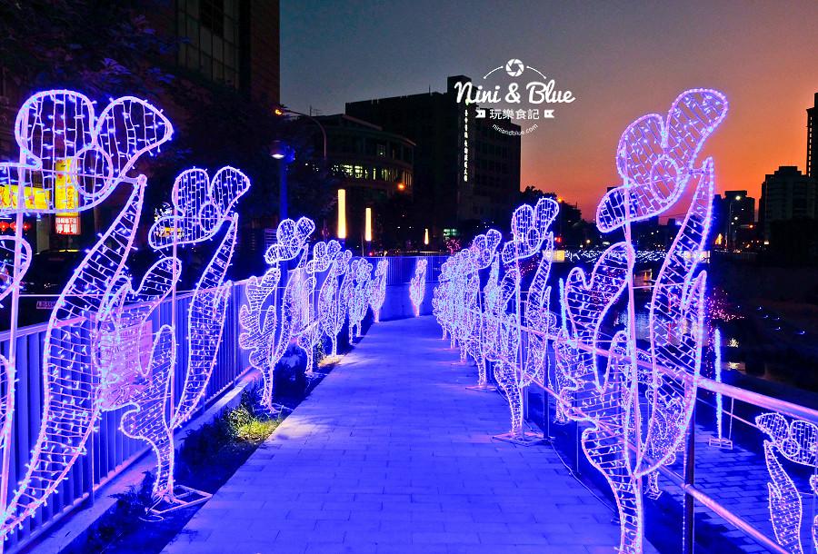 柳川水岸 2018 新盛綠川 燈節 IG打卡12
