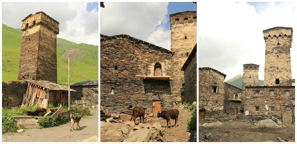 Rural life, Ushguli, Svaneti