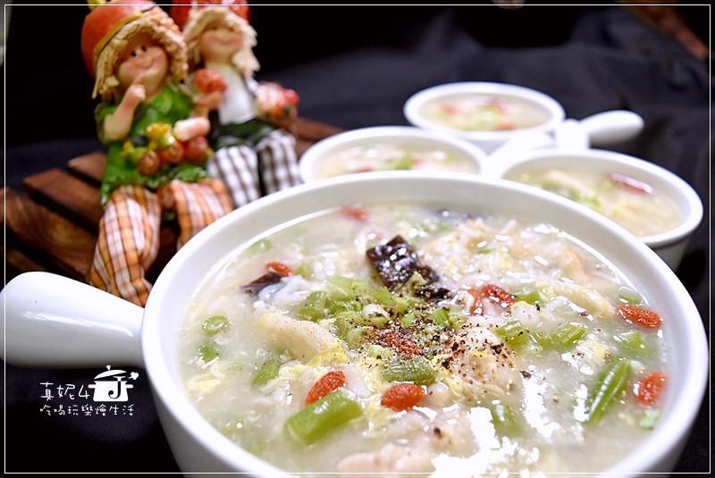 鮮菇雞肉粥,少油少鹽少熱量,用好吃的鹹粥抓住大人小孩的胃 (附實作影片)