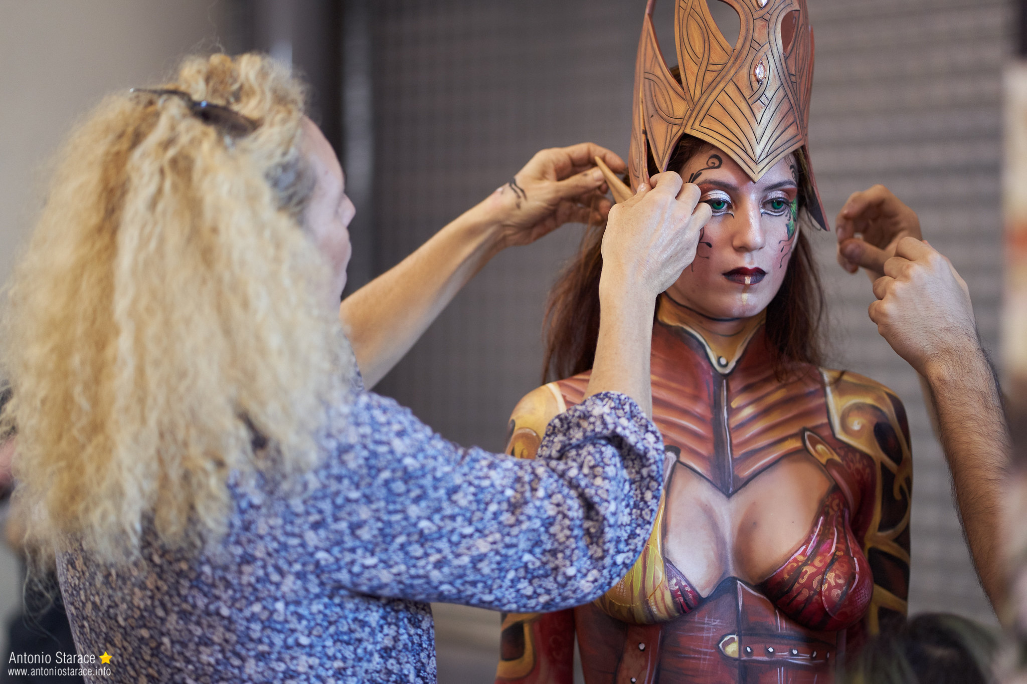 Romics2018_autunno_bodypaint_4