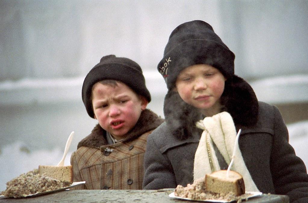 1997. Бездомные. Москва на снимках Игоря Витальевича Стомахина