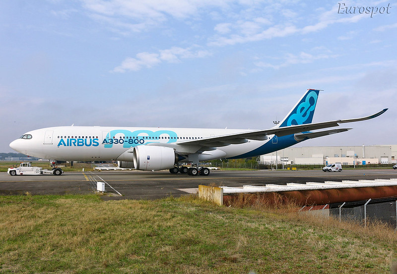 F-WTTO Airbus A330-800 Neo
