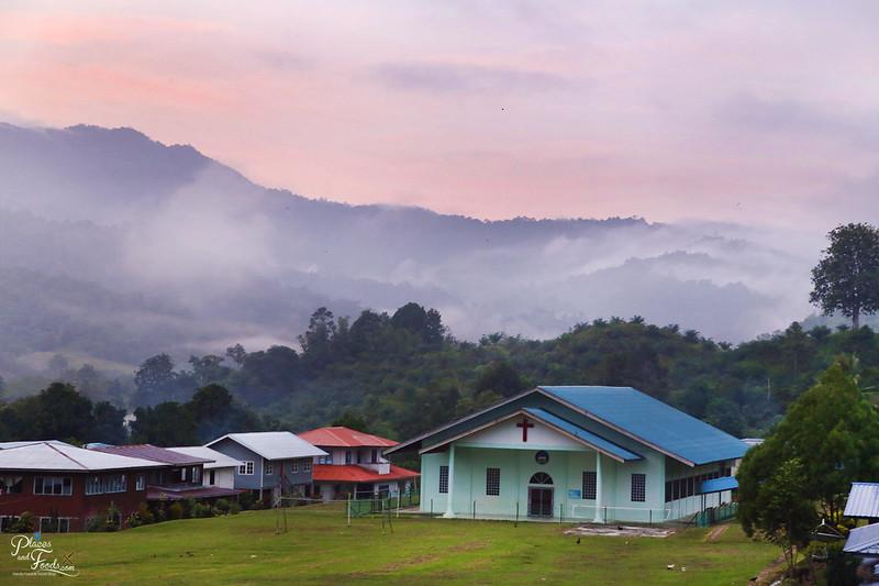 sarawak long semadoh sunrise